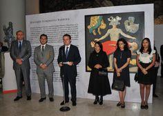 Inauguran la exposición Benjamín Domínguez. La magia del presagio