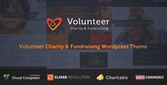 Download and review of Volunteer - Charity/Fundraising WordPress Theme, one of the best Themeforest Non-profit themes
