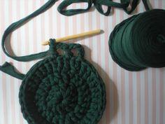 tutorial como hacer una alfombra con trapillo