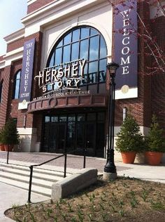 The Hershey Story: Front of building - Hershey Park, Pennsylvania
