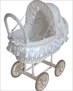 Zeiger Willow Doll Carriage - http://childrensfurniture.guidestobuy.com/zeiger-willow-doll-carriage-with-rubber-wheels