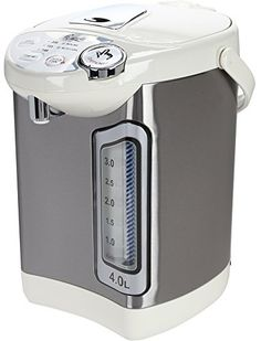 Rosewill Electric Hot Water Dispenser with Auto Feed Hot Water Boiler and Warmer 4.0 Liter, Stainless Steel / White R-HAP-15002 - Specifications • Type: Electric Water Warmer, Boiler and Dispenser • Max Capacity: 1 Gallon (4.0L) • 2 ways to dispense water with the button on the top of the housing, or the cup switch behind the spout. • Big Windows Water-level gauge with night light: Easy to read w...