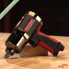 "Craftsman 1/2"" Heavy Duty Impact Wrench Air Tool Twin Hammer Torque Garage Shop #Craftsman"