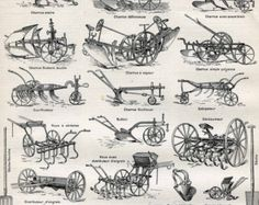 Horse drawn implements