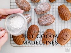 Guittard's Hot Cocoa Madeleines Recipe