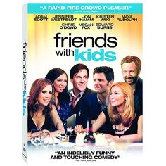 Would you have a kid with your best friend? Check out Jennifer Westfeldt's new film 'Friends with Kids' coming out on DVD and Blu-ray on Tuesday, July 17, 2012.     Also stars Jon Hamm, Megan Fox and Bridesmaids' cast: Kristen Wiig, Maya Rudolph and Chris O'Dowd.