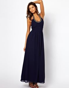 Embellished Halter Maxi Dress #asos #ad *beautiful