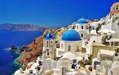 vacaciones isla santorini grecia