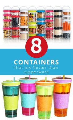 8 Creative Lunch Containers That'll Make You Ditch Your Old Ones Snack Boxes Healthy, Healthy Meals For Kids, Whats For Lunch, Lunch To Go, Kids Lunch Containers, Food Containers, Kindergarten Lunch, Cute Lunch Boxes, Lunch Box Recipes