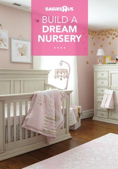 Build the room one great idea at a time, starting with the perfect crib that's just your style (this one's from Baby Caché's Vienna collection), then add a dresser (maybe two), and finally, a bedding set and décor to pull it all together! Toddler Bedroom Sets, Baby Crib Sets, Baby Crib Mattress, Baby Baby, Best Baby Cribs, Best Crib, Baby Furniture Sets, Nursery Furniture, Baby Room Decor