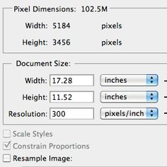 """TweetWe often refer to images at 300 PPI as being """"High Resolution."""" What does this mean and is it correct? This article attempts to clear up a misunderstanding about the importance of an image's resolution setting in relation to it's pixel dimensions. Short video illustration included. Tweet"""