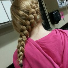 Photo by blazesymone katniss braid its beautiful (': !