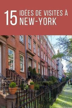 15 ideas for visits and activities to do in New York - Voyage Usa, Voyage New York, Blog Voyage, New York Vacation, New York Travel, Central Park, Empire State Building, New York City, Museum Hotel