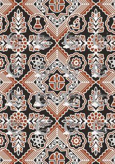 Desain Batik Cetak 7 Bulan - Eza Batik Batik Art, Batik Pattern, Pattern Design, Quilts, Style, Swag, Quilt Sets, Quilt, Log Cabin Quilts