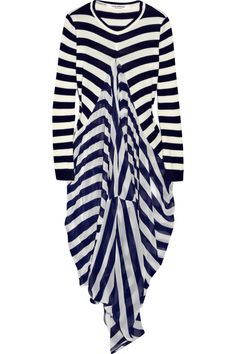 // Junya Watanabe.  I have a mania for stipes that rivals Yayoi Kusama's thing for dots.  Sort of.