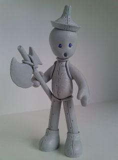Wizard of Oz Tin Man Figure by Jarreth.deviantart.com on @DeviantArt