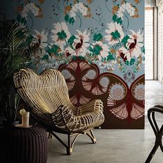 "Képtalálat a következőre: ""gingham wallpaper inspiration"" Sunday Inspiration, Creative Inspiration, Interior Inspiration, Painting Old Furniture, Cool Furniture, Interior Garden, Interior Walls, Interior Design, Boho Beautiful"