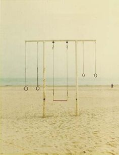 Swing in the beach=Perfection!