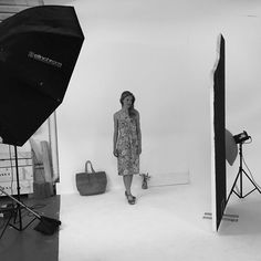 Behind the Scenes with @alliumb at their latest lookbook photoshoot