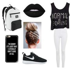 """""""Untitled #16"""" by mia-starr-zamora on Polyvore featuring Topshop, NIKE, Casetify, adidas Originals and Lime Crime"""