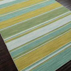 Multi Color Stripes Dhurrie Rugs