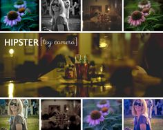 Hipster [toy camera] Presets for Lightroom - 18 color and black and white vintage-style presets included here, and all are completely re-tweakable once you've applied them to your image.