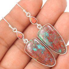 Sonora Sunrise & Fire Opal 925 Sterling Silver Earring Jewelry EE21220