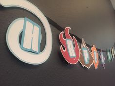 Skylanders Elements Birthday Banner by DesignsByRory on Etsy