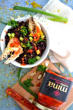 Gluten-Free and Dairy-Free Black Rice Harissa Salad, Wholeliving.com
