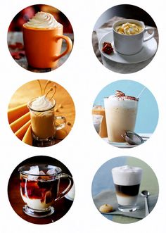 Tasty Coffee Recipes.  From mocha to lattes something for everyone!