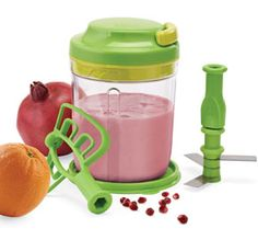 Tupperware | Smooth Chopper  I LOVE my Smooth Chopper!!!  You can use it to make smoothies, marinades, chop fruit/veggies, etc....