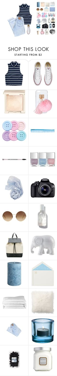 """""""Can you taste my lust? Can you feel my sin?"""" by kaiadavidson657 ❤ liked on Polyvore featuring Aéropostale, Converse, Jouer, Ashlyn'd, BHCosmetics, Nails Inc., Eos, Victoria Beckham, Mansur Gavriel and The Elephant Family"""