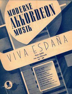 JOE EDWARDS - VIVA ESPANA - PASO DOBLE - 1953 - FÜR AKKORDEON SOLO