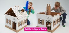 Kitty Play Zone - Playhouse & Feeding Station for Kittens and Cats