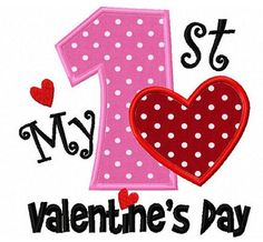 My 1st Valentines Day shirt or one-piece by Birthdayshirtsanmore