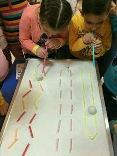 Fun and simple games for kids Indoor Activities, Sensory Activities, Classroom Activities, Learning Activities, Preschool Activities, Oral Motor Activities, Games For Kids, Art For Kids, Crafts For Kids