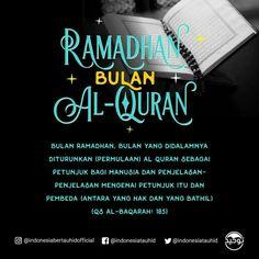 Religious Quotes, Islamic Quotes, Ramadhan Quotes, Islamic Center, Antara, Quran Quotes, Doa, Ramadan, Knowledge