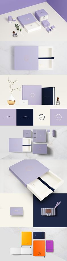 Packaging and branding for MH Handmade Memories by Sweety & Co Porti Allegrao, Brazil. Lovely PD
