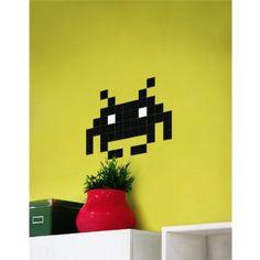 #Stickers autocollants #Invaders pour #murs #Déco #Geek #Pixels #Startup - Trouvé sur : http://www.kollori.com/decoration-de-bureau/stickers-de-bureau/autocollant-mural-classic-invader.html