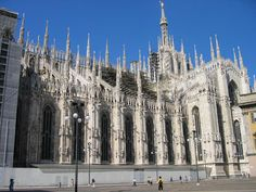One of the most spectacular cathedrals in Italy - the Milan Duomo. Particularly cool is the fact that you can climb up onto the roof for wicked views of the architecture up close, the the city below you.