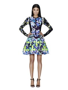 It's Here! Check Out the Full Peter Pilotto for Target Lookbook: Dress in Purple Floral Print, $69.99  Shirt in Green Floral Print, $19.99