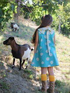 HER Little world, Patron de couture pour vêtement enfant, robe Sereine
