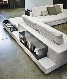 luxury furniture Contemporary High-end Plat Sectional - Italian Designer amp; Luxury Furniture by Cassoni Modular Furniture, Sofa Furniture, Cheap Furniture, Luxury Furniture, Living Room Furniture, Modern Furniture, Furniture Design, Rustic Furniture, Antique Furniture