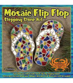 Mosaic Flip Flop Stone Kit at Joann.com