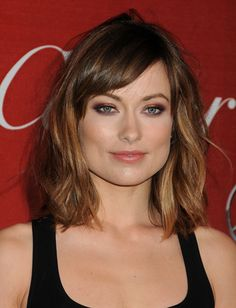 Olivia Wilde is doing it right. This mid-length bob is the hottest style now.