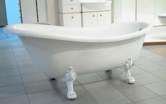 Modernebadezimmer de freistehende badewanne