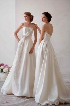 """Wedding dress with pockets, from Papilio """"Nymph"""" bridal collection - www.papilioboutique.com"""