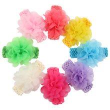 New Flower chiffon Baby Hairbands,Girls lace Headband,Infant Hairband ,Baby Hair Accessories