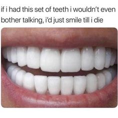 Top Oral Health Advice To Keep Your Teeth Healthy. The smile on your face is what people first notice about you, so caring for your teeth is very important. Unluckily, picking the best dental care tips migh Teeth Health, Healthy Teeth, Oral Health, Dental Health, Healthy Life, Just Smile, Your Smile, Dankest Memes, Funny Memes