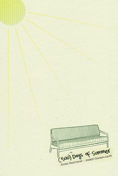 (500) Days of Summer ~ Minimal Movie Poster by Laura Mnaranjo #amusementphile